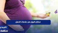 هل حرقان البول من علامات الحمل