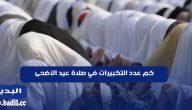 كم عدد التكبيرات في صلاة عيد الأضحى