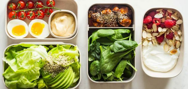 اكلات نظام الكيتو دايت على مدار اليوم