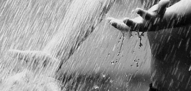 ادعية المطر مستجابة مكتوبة
